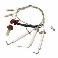 Zünd-/Ionisationelektroden-Set LAURA - DIFF für Baxi-Roca : 122255010