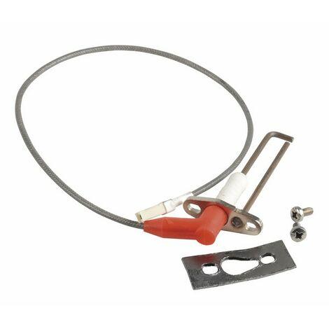 Zündelektrode + Kabel - DE DIETRICH : S100604
