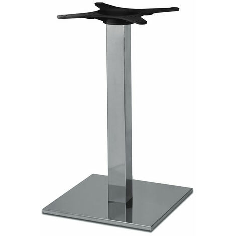 Zuton Square Dining Inox Table Base