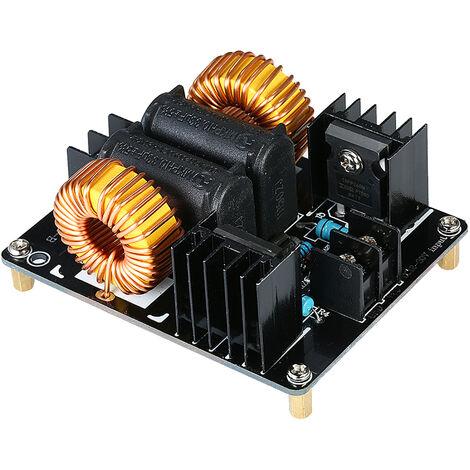 ZVS 1000W de baja tension de calentamiento por induccion modulo del tablero del tiempo de retorno del conductor calentador Marx Generador Junta de fuente de alimentacion de la bobina de Tesla