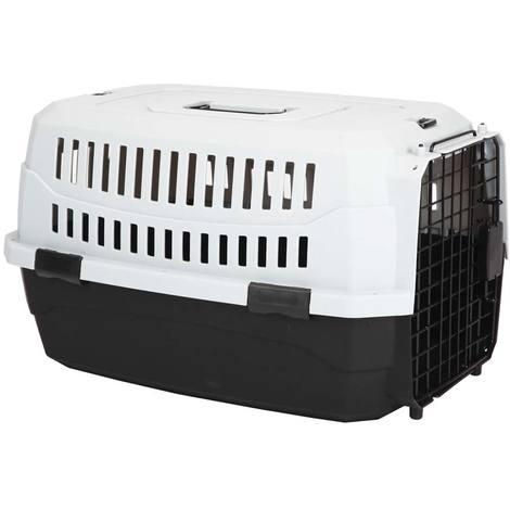 Zweifarbiges Förderband für Hunde und Katzen aus widerstandsfähigem Kunststoff M Ferribiella