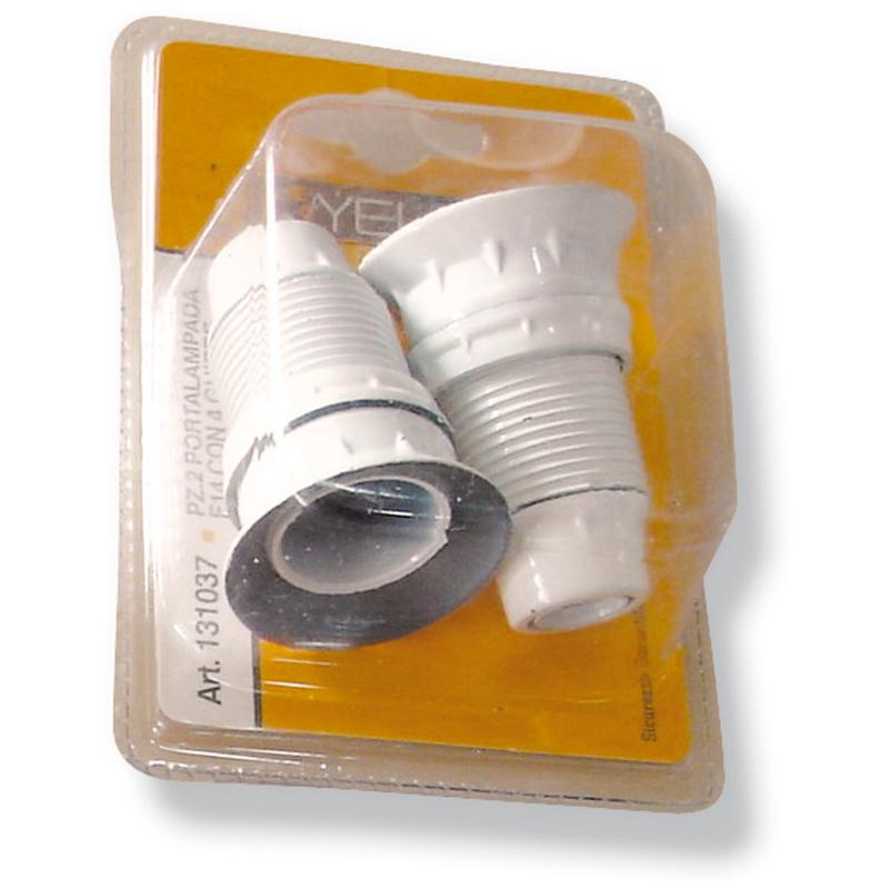 ... ghiera attacco E14 colore bianco lampadina casa 131037 - Illuminazione