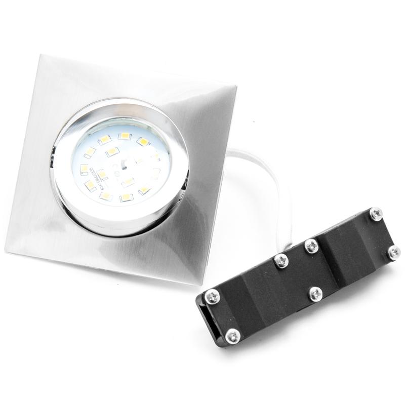 3x faretti led direzionabili 5w risparmio energetico 400lm for Risparmio energetico led