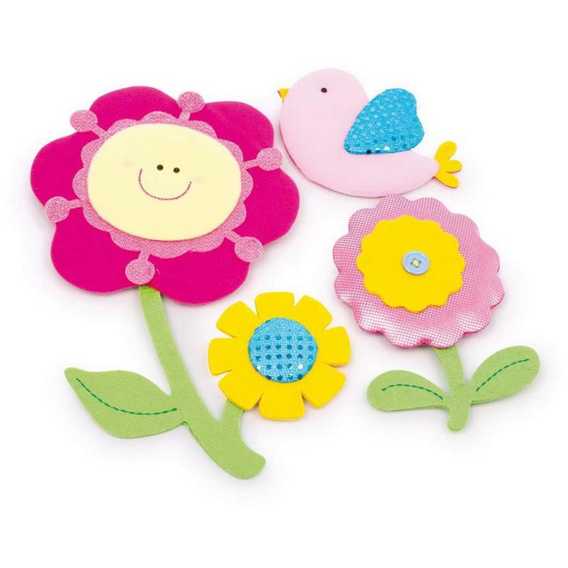 Adesivi decorativi fiore 30 x 16 cm g2626 for Adesivi decorativi