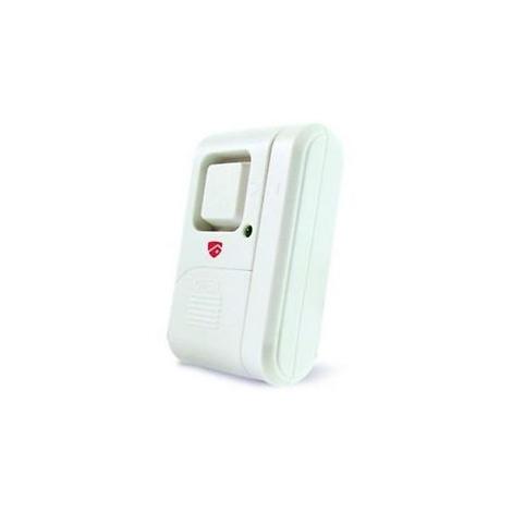 Allarme a contatto magnetico per porta/finestra con sirena integrata - BRAVO 92902950 - Elettricità