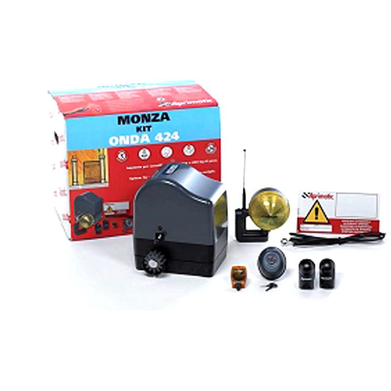 Aprimatic Kit per cancelli scorrevoli chiusura automatica fotocellule 41101-800 - Elettricità