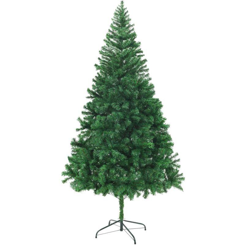 Rbol de navidad artificial ramas gruesas 210cm jardines - Arboles de navidad artesanales ...