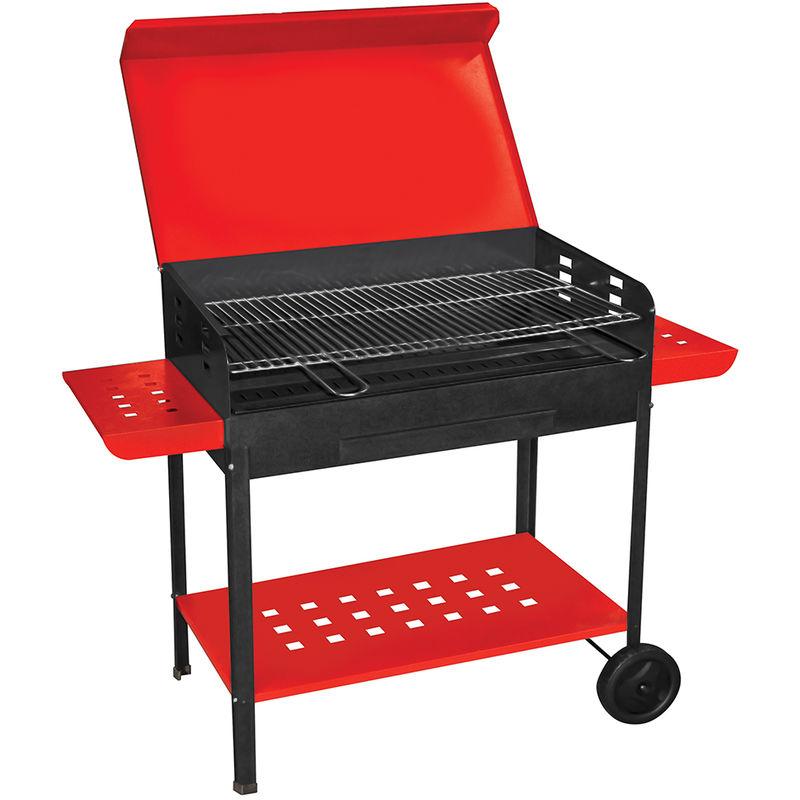 Pin barbecue in ferro con griglia acciaio giardino e fai for Barbecue fai da te in ferro