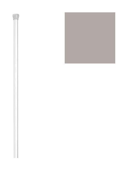 Cortinas De Baño La Plata: Baño Recta Extensible 18mm (1,23-2,16) Plata – 8420938000705 – Baños