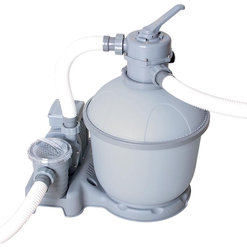bestway pompa filtro a sabbia 7571 lt h per piscina 58315