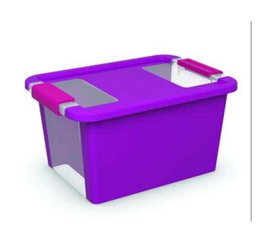 Caja ordenacion bi box 11l violeta herramientas - Cajas ordenacion ikea ...