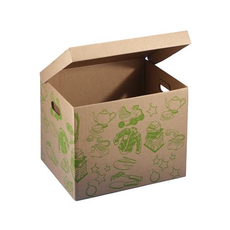 Caja ordenacion carton 45x35x35cm b960vuti ferreter a - Cajas de ordenacion ...