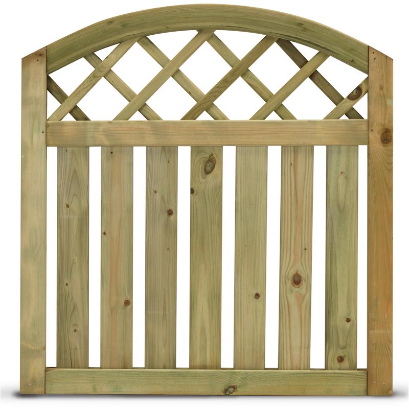Cancelletto per steccato stisa impregnato autoclave for Recinzioni in legno obi