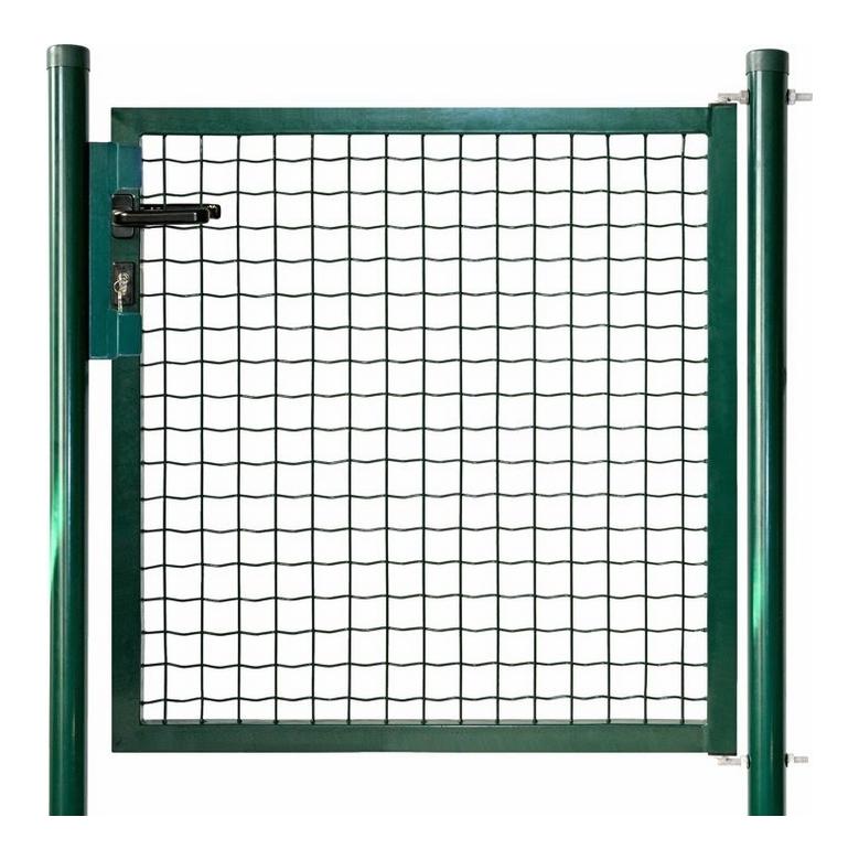 Cancello pedonale per recinzione mod tivoli 100x145h cm - Cancelletto in legno per esterno ...