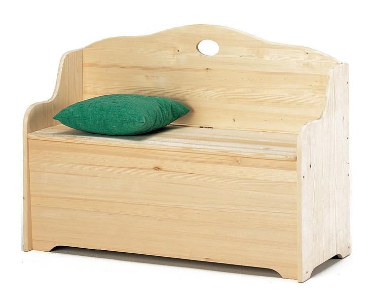 Cassapanca per esterno baule contenitore in legno massello cm 110x43x68 a13778 giardino piscina - Cassapanca legno da esterno ...