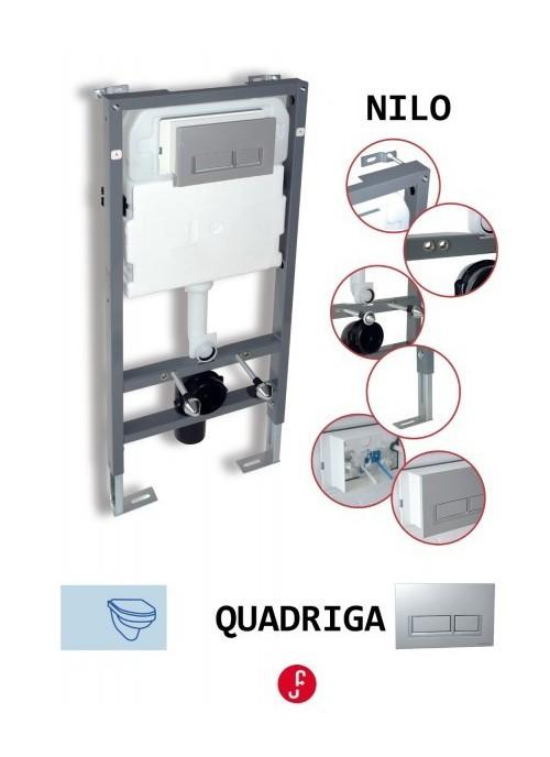 Cisterna empotrada para inodoro suspendido cs01 - Cisterna empotrada ...