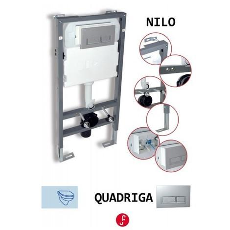 Cisterna empotrada para inodoro suspendido cs01 for Cisterna empotrada