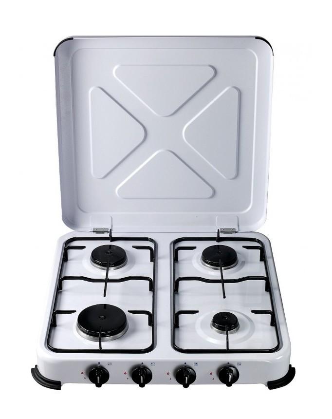 Cocina portatil de gas 4 fuegos jardines y piscinas - Cocina portatil gas ...