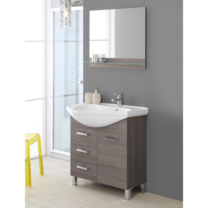 Composizione bagno rovere scuro 799021 bagno - Composizione piastrelle bagno ...