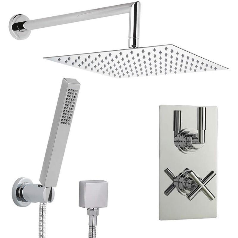 Conjunto de ducha ducha de mano alcachofa y llave - Conjuntos de ducha ...