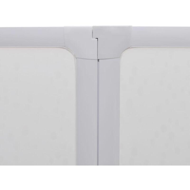 Ducha pared pantalla ba era de vapor 7 paneles plegables for Toallero para ducha