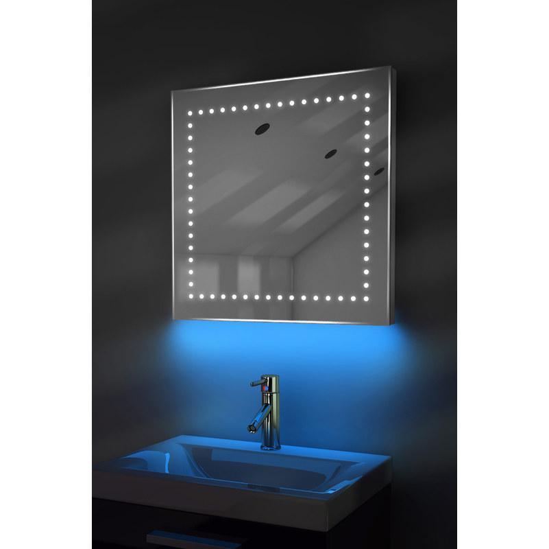 Espejo de ba o iluminado con led ambient ultra slim con - Espejo de banos ...