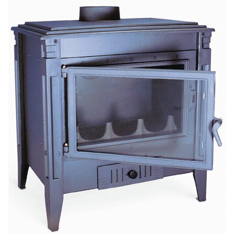 Estufa hogar le a briqueta s v 150 mm fontaner a for Diseno de estufa hogar a lena