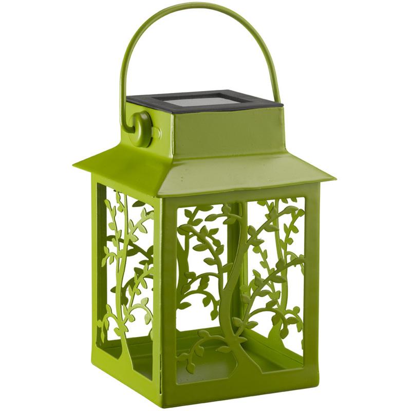 Lampara solar farol colores 17 cm 1080640p jardines y - Farol solar para jardines y exteriores ...