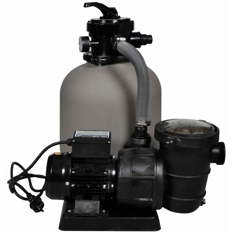 Filtro de arena con bomba de la piscina 14 39 jardines y for Bomba para piscina con filtro