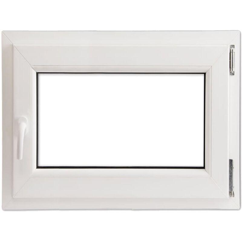 Finestra anta ribalta pvc con manico a sinistra 800 x 700 for Stock finestre pvc