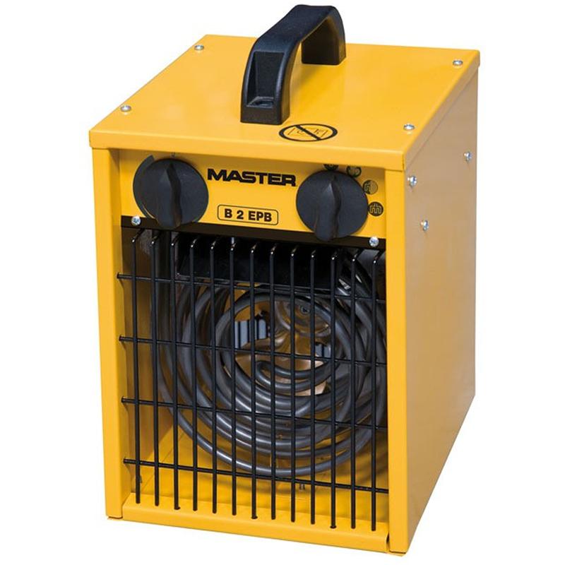Aerazione forzata: Ventilatore elettrico aria calda