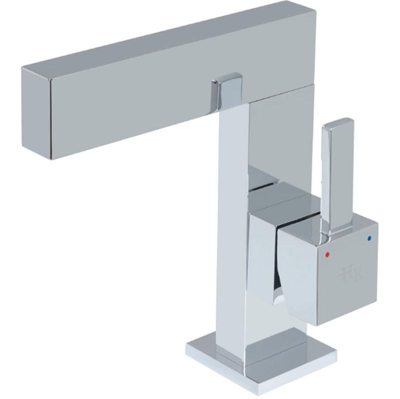 Grifo mezclador de lavabo monomando con control lateral - Grifos de pared ...