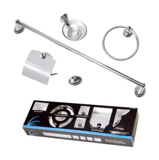 Juego accesorios ba o 5 piezas 8000071555395 ba os for Conjunto accesorios para bano
