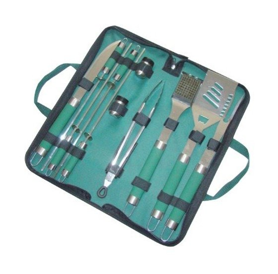 Kit attrezzi completo barbecue papillon accessori in for Attrezzi piscina