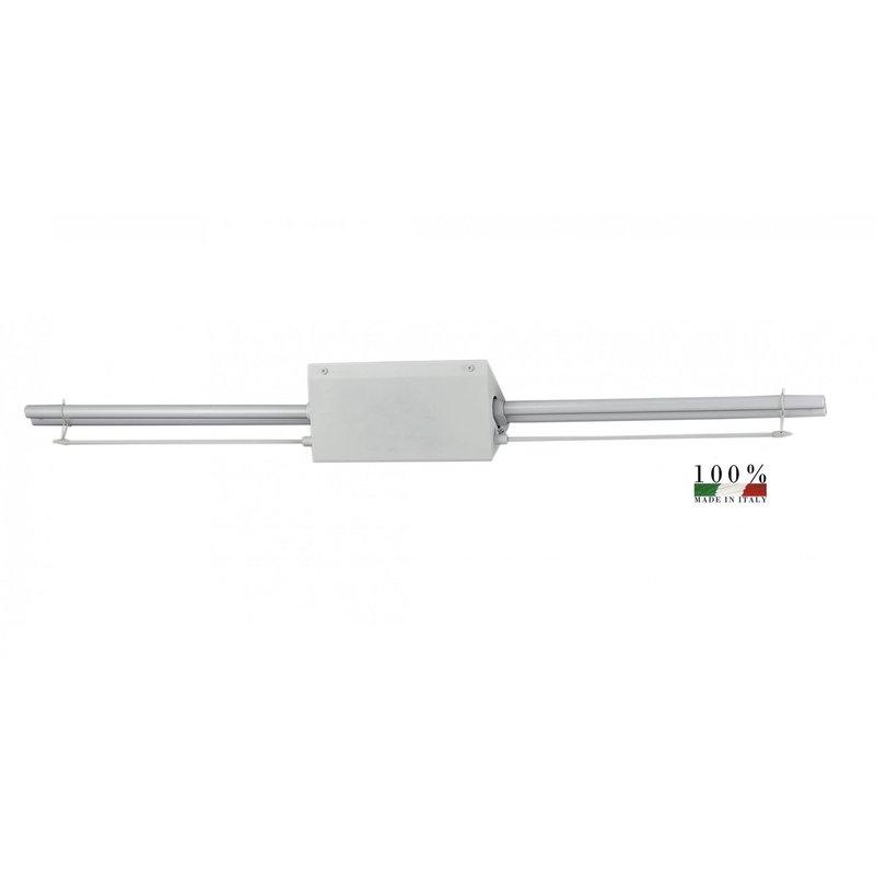 Lampada da parete a led applique moderno per interno 66x12 for Lampada led interno
