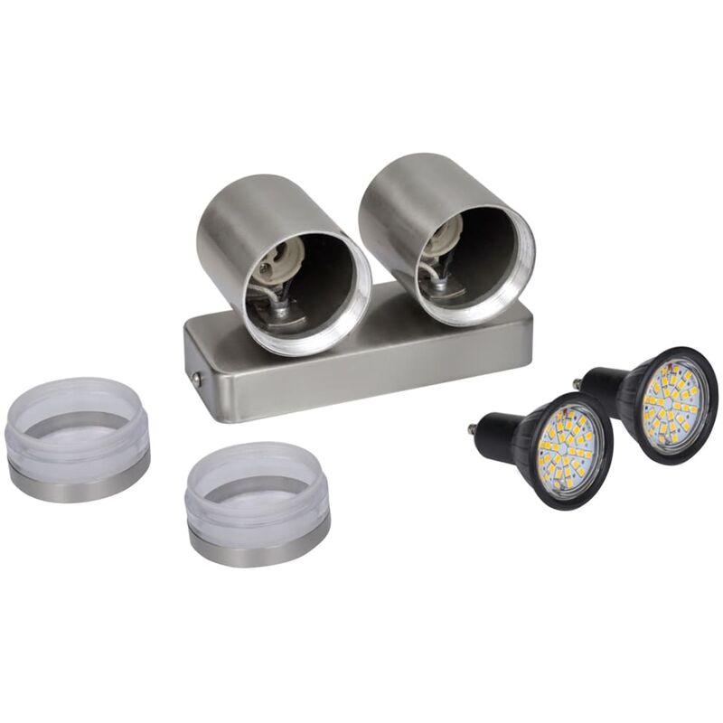 Lampada da parete a LED in acciaio inossidabile Cono - Illuminazione