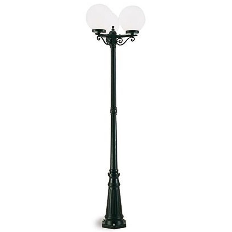lampadari a sfera : Lampione 3 lampade a sfera 313/06 - Illuminazione