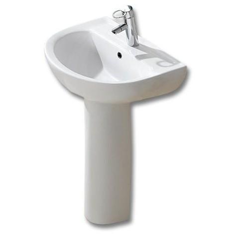 Lavabo con pedestal modelo marsella for Lavabo con pedestal