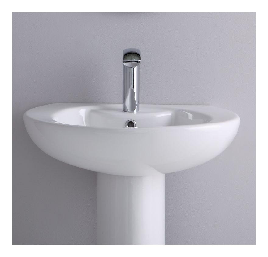 Lavabo su colonna soft ls cs idraulica sanitari for Lavabo a colonna