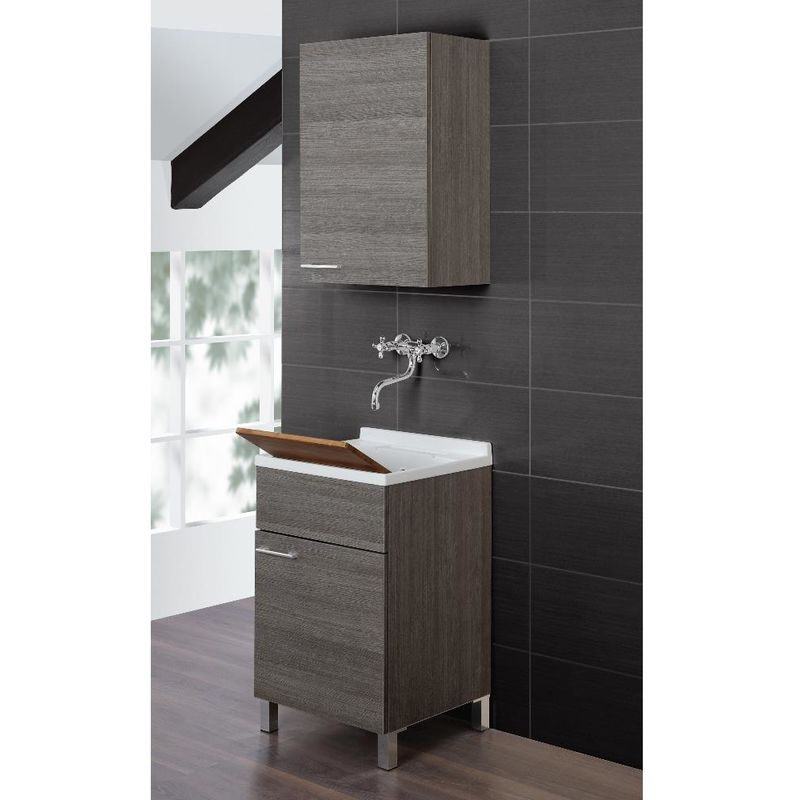 Lavatoio mobile bagno arredo design moderno un anta for Lavatoio bagno moderno