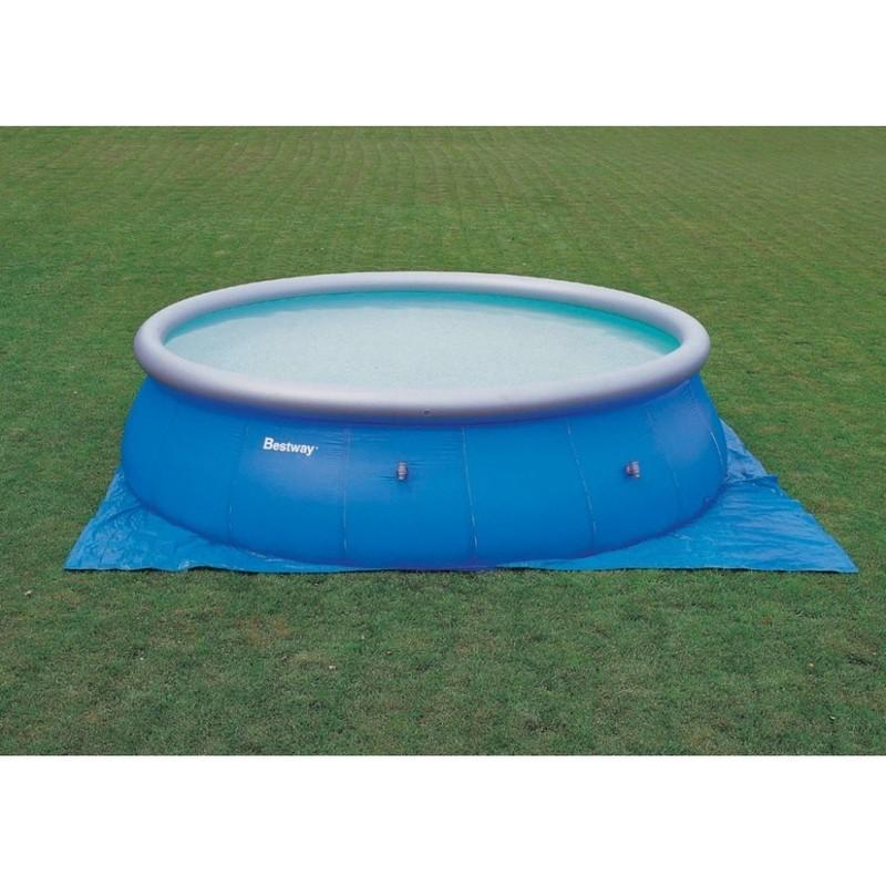 Pin lona piscina con instalacion en madrid segundamanoes 29055802 on pinterest - Cubre piscinas bestway ...