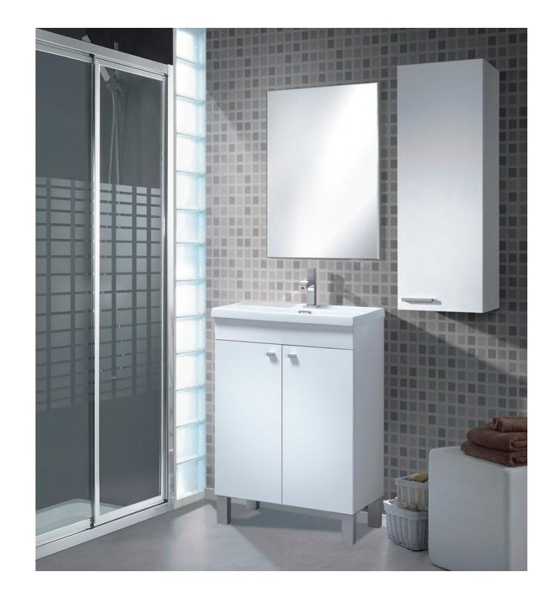Mueble ba o espejo 80x50x40 koncept 305210bo ba os for Espejo 50 x 150