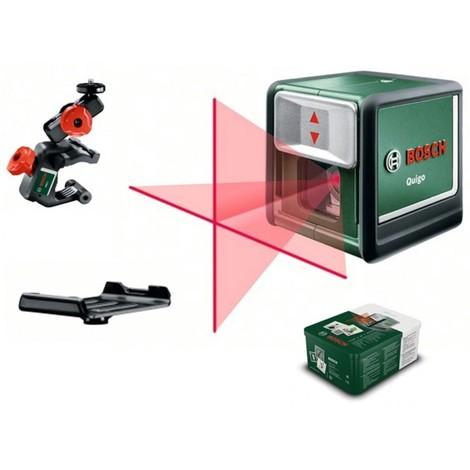 Nivel laser con proyeccion cruzada quigo ii herramientas - Nivel con laser ...
