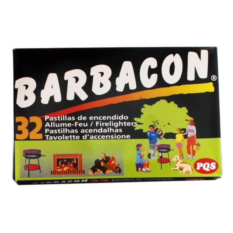 Pastillas encendido 32 unid barbacon 1154430 qp for Pqs piscinas y consumo
