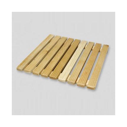 Pedana in legno per doccia, Pedana cm.58x58 in massello di larice per doccia cm.80x80 - 116886 ...