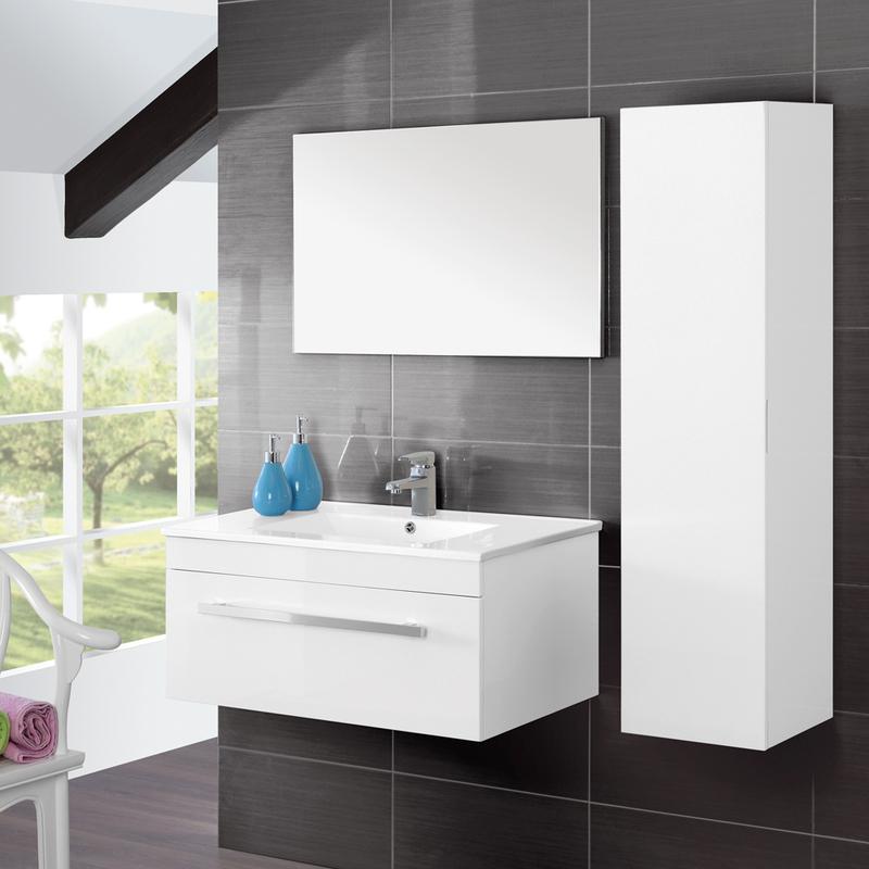 Pensile bagno un anta portasciugamani mobile arredo design moderno 017064 p23510 bagno - Bagno design moderno ...