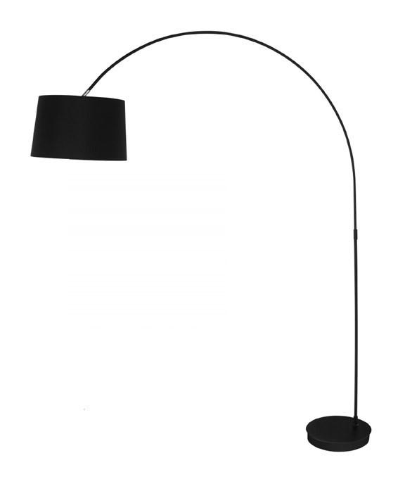 Piantana moderna con paralume lampada da salotto bianca 175 cm - P17807 - Illuminazione