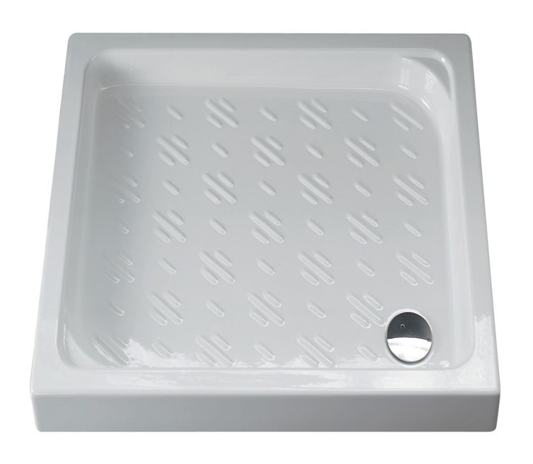 Piatto doccia 72x90 tebe 1006 idraulica sanitari - Posare un piatto doccia ...