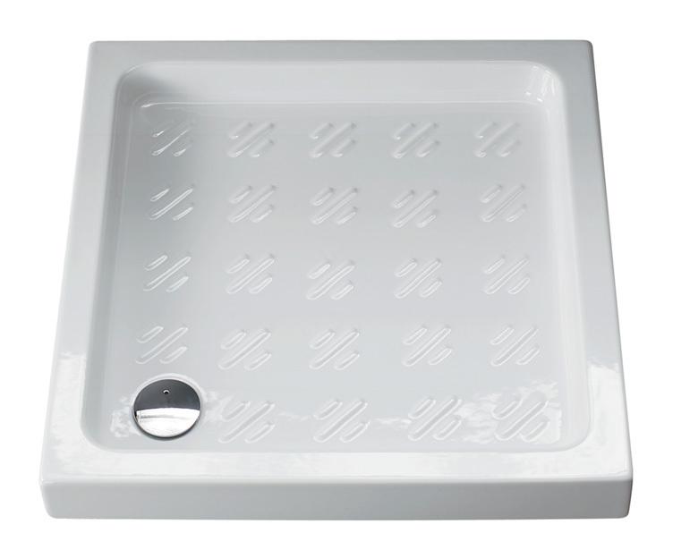 Piatto doccia 75x75 albatro 1001 idraulica sanitari - Posare un piatto doccia ...
