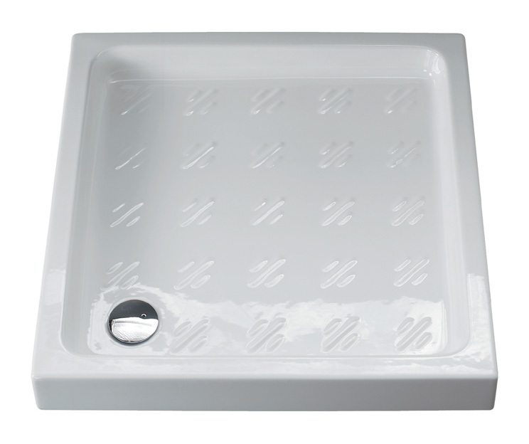 Piatto doccia 80x80 albatro 1002 idraulica sanitari - Posare un piatto doccia ...